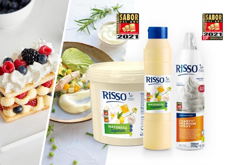 Dos productos Risso, elegidos Sabor del Año Restauración 2021