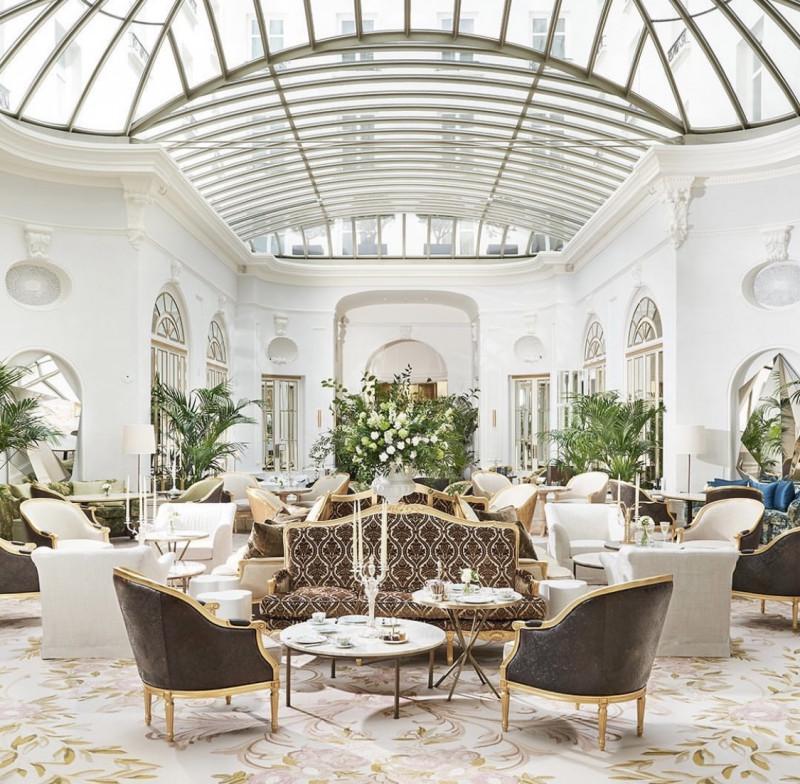 Colección Alexandra decora el Hotel Mandarin Oriental Ritz de Madrid