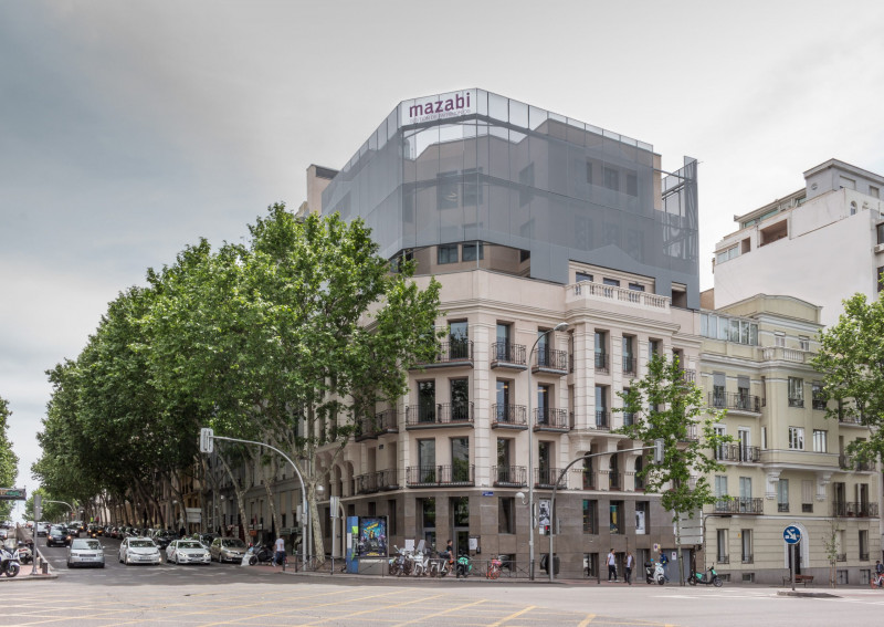 Mazabi y Room007 adquieren un edificio de uso hotelero en el centro de Madrid