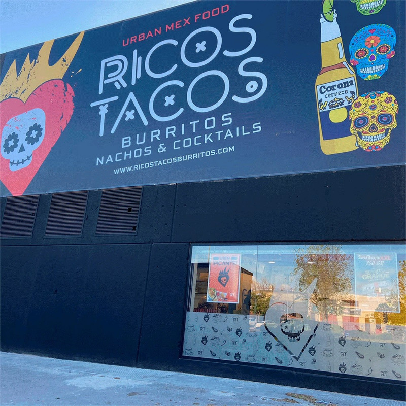 Ricos Tacos abre un establecimiento en Las Rozas, Madrid
