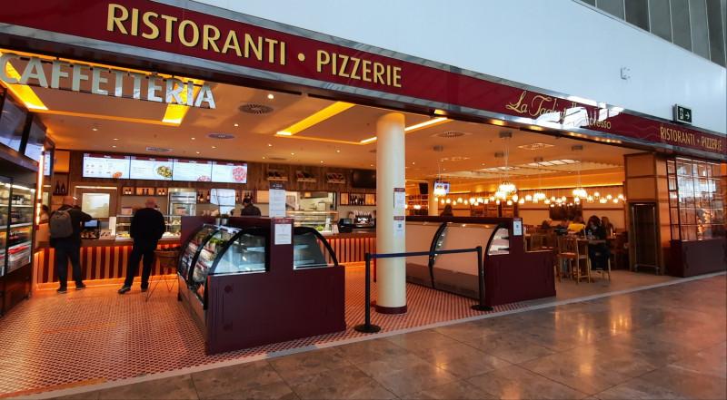 Areas inaugura la primera Tagliatella en un aeropuerto español