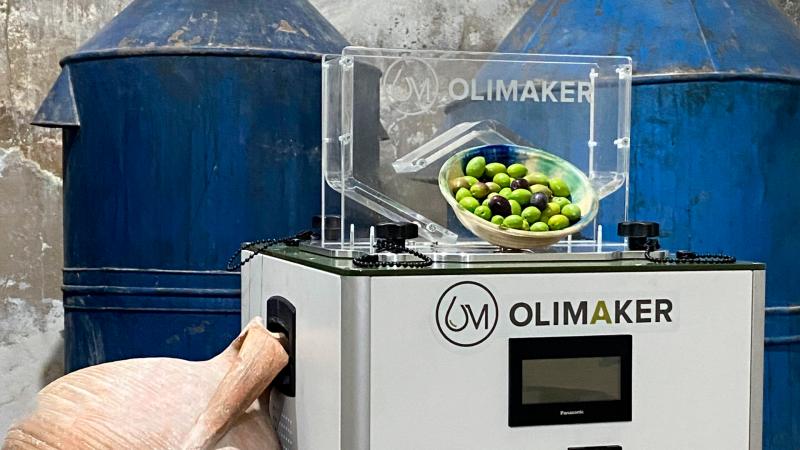 Olimaker lanza su primera micro-almazara