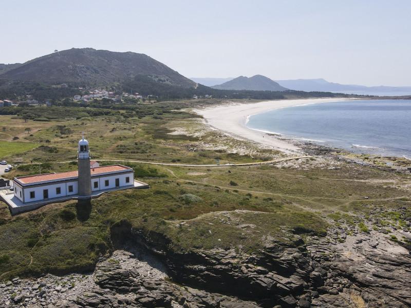 Faro de Lariño, el faro convertido en hotel en A Coruña