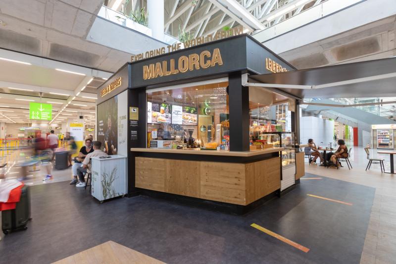 Areas abre otros dos establecimientos en el aeropuerto de Palma de Mallorca