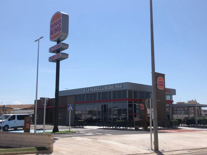 Burger King inaugura un nuevo local en Valencia