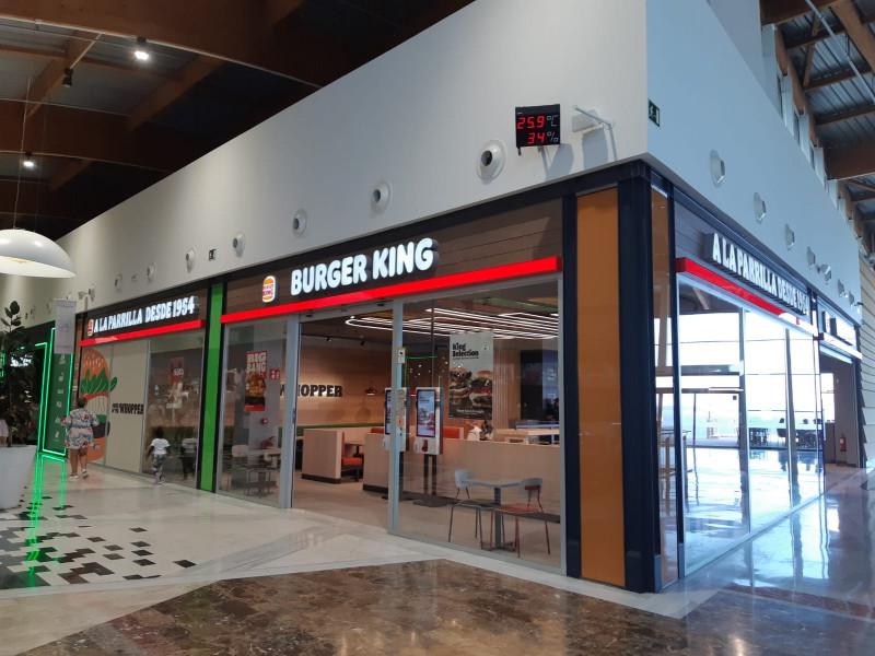 Burger King abre un nuevo local en Las palmas