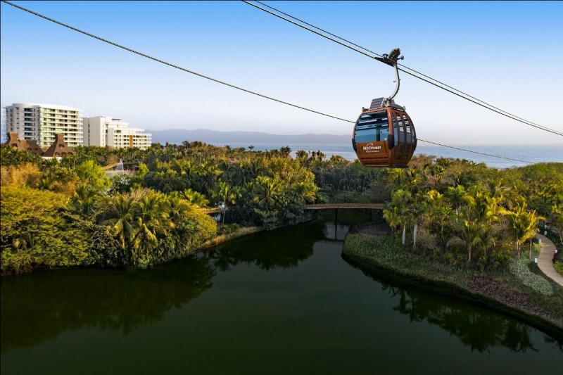 El SkyDream Park Gondola llega a Riviera Nayarit